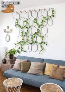 دکوراسیون منزل با گیاهان اپارتمانی