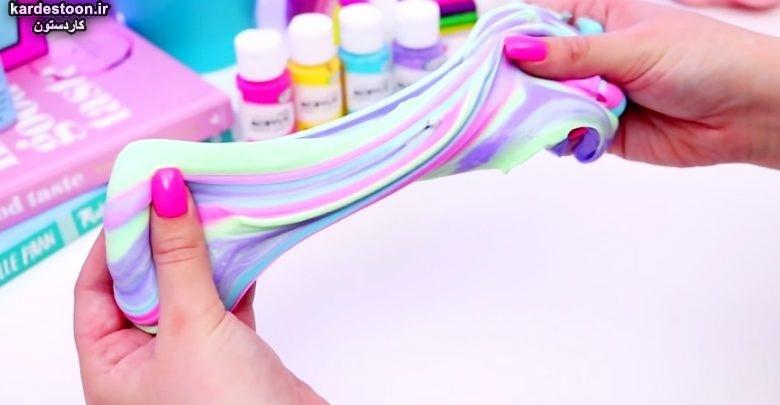 ساخت اسلایم با چند روش خانگی بسیار راحت