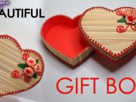 5 روش متفاوت ساخت باکس هدیه در منزل