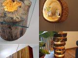 ایده های خلاقانه با چوب برای دکور منزل