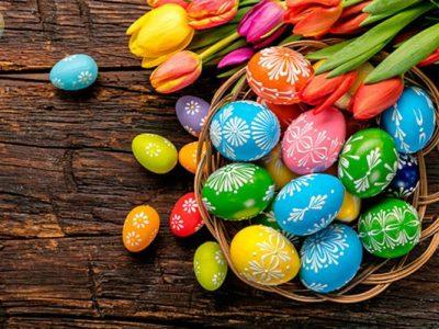آموزش رنگ آمیزی تخم مرغ عید نوروز
