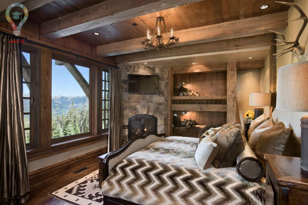 چگونه یک خانه به سبک روستیک داشته باشیم