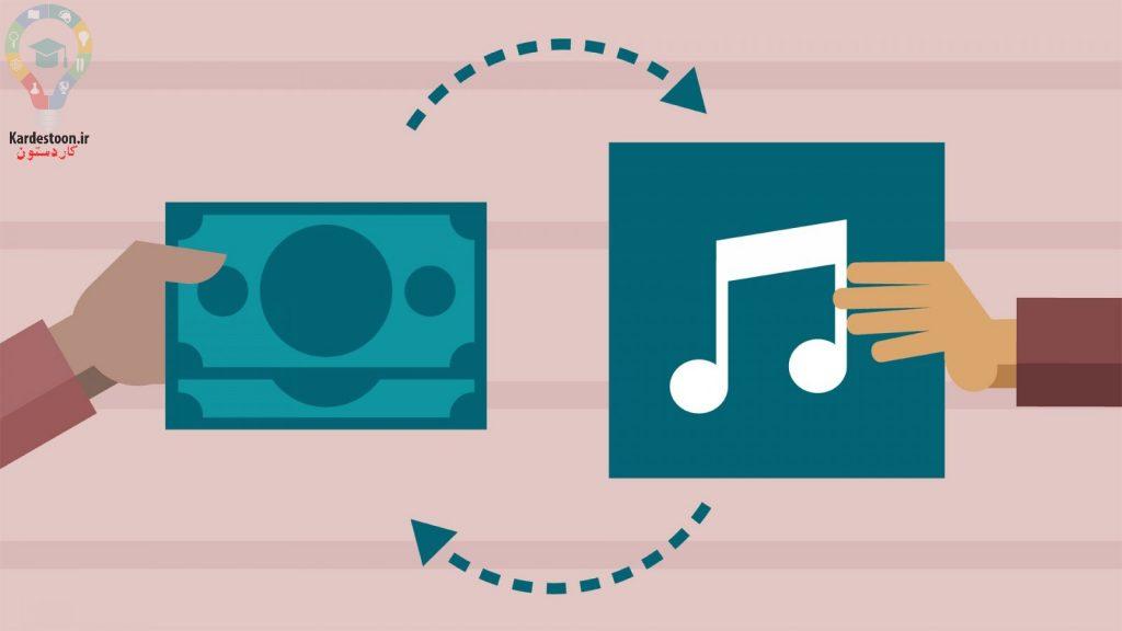 موسیقی خود را در وب تولید و فروش کنید