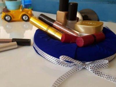 آموزش ساخت باکس لوازم آرایشی با یونولیت و پارچه