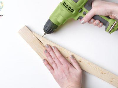 آموزش ساخت استند چوبی زیبا برای گلدان