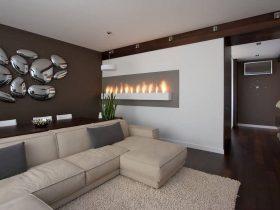 تزیین دیوار پذیرایی منزل با چند ایده جدید و کاربردی
