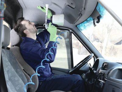 نحوه تمیز کردن موکت سقف خودرو